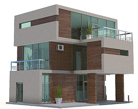 3D Cottage house02