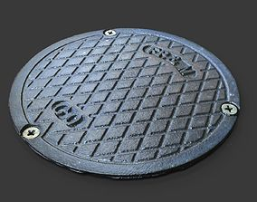 3D model sewage FP and M Utility Cover