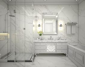 Classic Bathroom 3D model bathroom