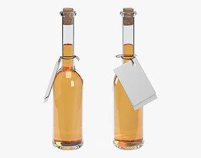 3D model Liquor bottle 10 cl