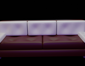 ambient COUCH SOFA 3D model