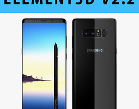 E3D - Samsung Galaxy Note 8 Midnight Black