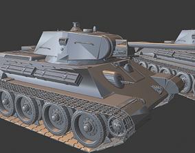 3D printable model T 34 Tanks
