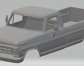 F 100 - 1969 Printable Body Truck
