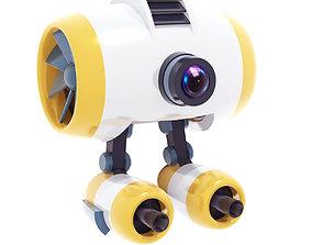 Drone Simple 3D model