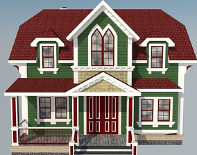 Victorian House for Business 3D printable model
