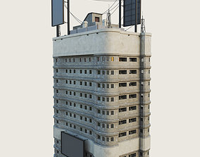 3D asset Building Skyscraper City Town Downtown 4