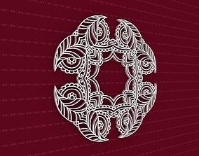 3D Mandala peace