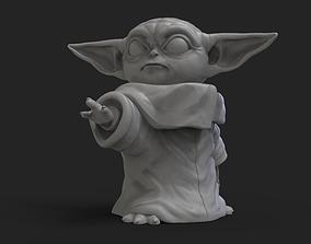 3D print model Baby yoda 3d