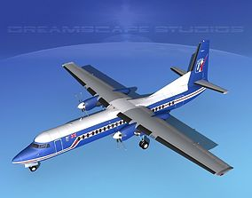 Fokker F-60 Air UK 1 3D