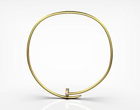 3D printable model Necklace Nail cartier 9033