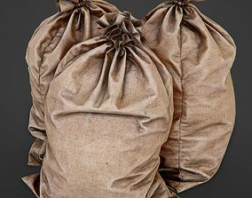 Bag from a Sacking PBR Game-Ready 3D asset