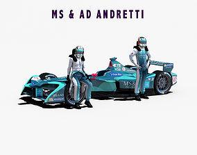 MSAD Andretti 2017 2018 3D model