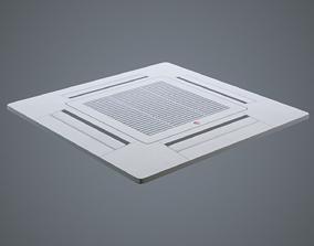 Ceiling Air Conditioning Ventilation 3D asset