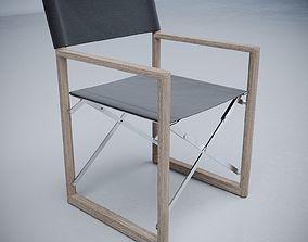 Director Outdoor Teak Armchair 3D