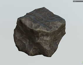 Low poly Realistic Meteor m5 3D asset