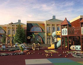 3D Children amusement park 11