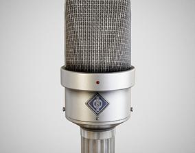 3D model Microphone - Neumann M49