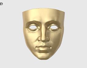 3D printable model finishes Face Mask