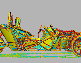Polaris Slingshot Chassis 3d Scan data