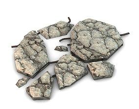 Broken concrete 3D