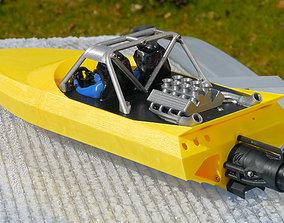 M-Jet Sprint - 3D Printable RC Jetsprint Boat