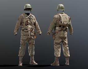 SOLDIER WWII US Soldier 3D