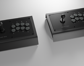 3D model Gaming Arcade Sticks