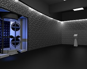 3D model Time vault-Corridors-hall from STAR Labs