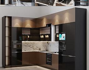Kitchen Modern 18 3D model