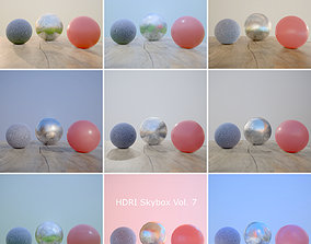 3D model HDRi Vol 7 Skybox Collection