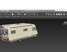 Hymer camper 3D print model