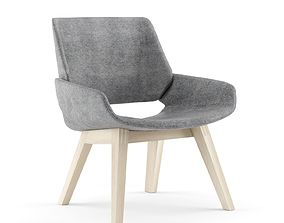 3D PROSTORIA Monk Easy Chair By Grupa