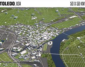 3D model Toledo