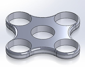 3D printable model 5 Bearing Spinner