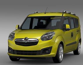 Vauxhall Combo Tour H1L2 2015 3D model