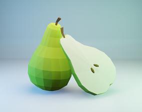 Pear - Fruit 3D model