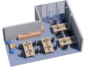 3D model Office Space