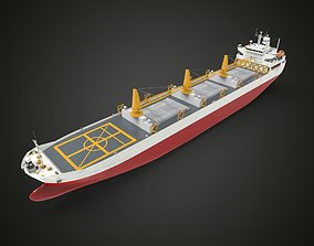 Supply military ship 3D