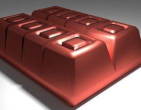 Chocolate Bar coco 3D