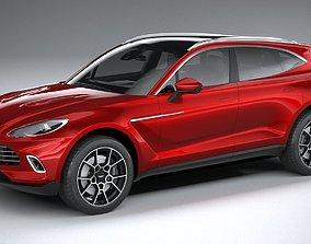 Aston Martin DBX 2021 3D