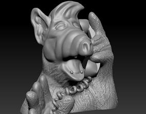 Alf bust - Gordon Shumway 3D print model