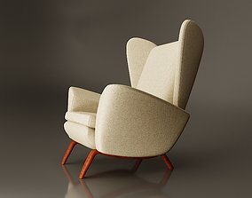 3D Lounge Chair by Howard Keith