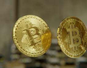 Bitcoin 3D asset