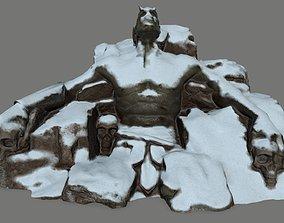 3D model Stone Worrior