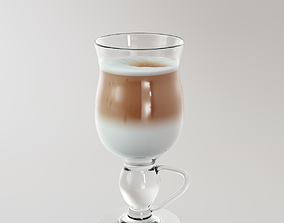3D model Latte Macchiato bar