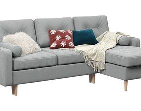 living 3D model sofa Pure