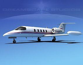 Gates Bombardier Learjet 35 V08 3D model