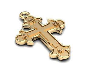 Gold Cross model BR036 3D