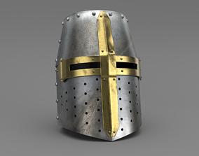 3D Templar Helm
